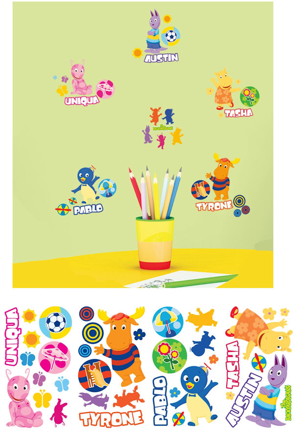 The Backyardigans Wall Decals - Wall Sticker Outlet