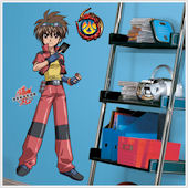 Bakugan Giant Peel and Stick Wall Mural SALE