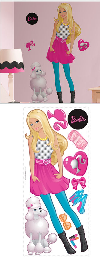 Barbie Giant Wall Sticker