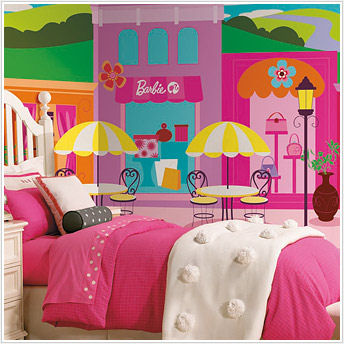 Barbie xl mural sale for Barbie wall mural