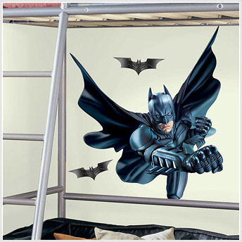 Batman the dark knight giant sticker wall mural for Dark knight mural