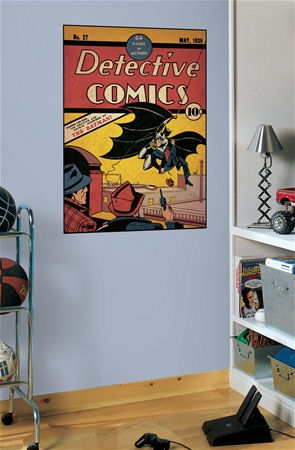 Batman Issue 1 Comic Book Cover Sticker  - Wall Sticker Outlet