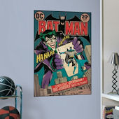 Batman and The Joker Comic Book Cover Sticker SALE