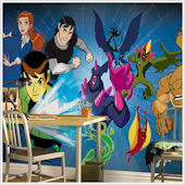 Ben 10 Giant XL Wall Mural  9 x 15 Feet SALE