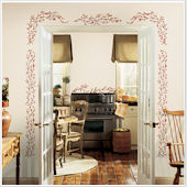 Berry Vine Giant Wall Sticker