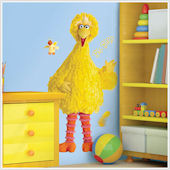 Sesame Street Big Bird Giant Wall Sticker