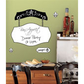 Bon Appetit Dry Erase Giant Wall Decal SALE