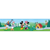 Mickey and Friends Peel and Stick Wall Border