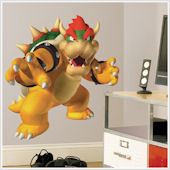 Super Mario Brothers Bowser Giant Wall Sticker
