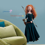 Disney Brave Merida  Giant Wall Decal