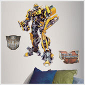 SALE Transformers Bumblebee Giant Wall Sticker