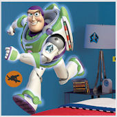 Buzz Lightyear Giant Wall Sticker