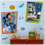 Buzz and Woody Giant Wall Poster Stickers