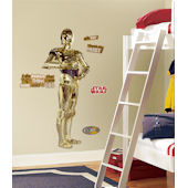 Star Wars C3PO Giant Wall Sticker