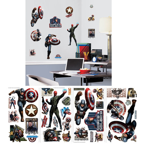 Captain America The First Avenger Wall Decals - Wall Sticker Outlet