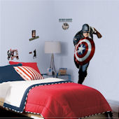 Captain America The First Avenger Giant Wall Decal