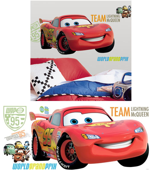 Disney Cars 2 Giant Wall Decals Part 72