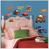 Disney Cars Piston Cup Champions Wall Stickers