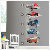 Disney Cars 2 The Movie Growth Chart Wall Sticker
