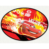 Disney Cars Sparks Fly Wall Decal