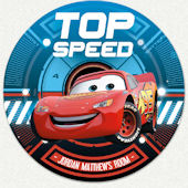 Cars Top Speed Custom Wall Decal