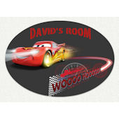 Disney Cars Whoosh Custom Wall Decal