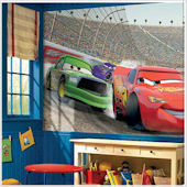 Disney Cars Giant XL Wall Mural 10.5 x 6 Feet