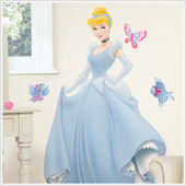 Disney Cinderella Jeweled Giant Wall Sticker