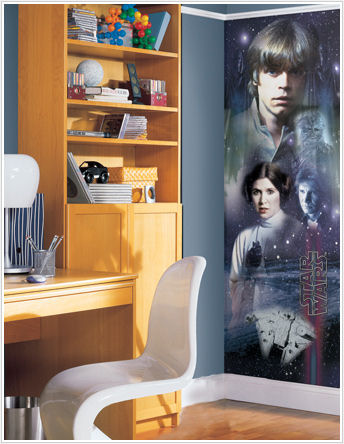 Star Wars Classic Cast Wall Panel - Kids Wall Decor Store
