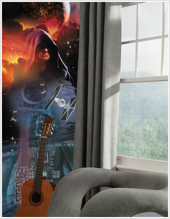 Star Wars Classic Dark Side Wall Panel - Kids Wall Decor Store