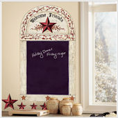 Country Chalkboard Giant Wall Sticker
