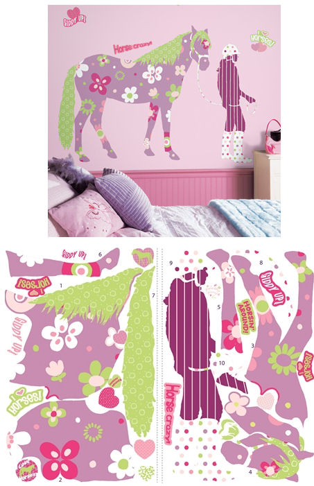 Horse Crazy Megapack Wall Stickers  - Wall Sticker Outlet