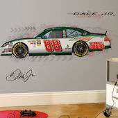 Dale Earnhardt Jr. Giant Wall Decal SALE