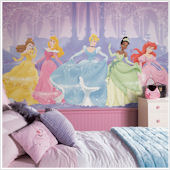 Perfect Princess XL Wall Mural 6.5 x10 Feet
