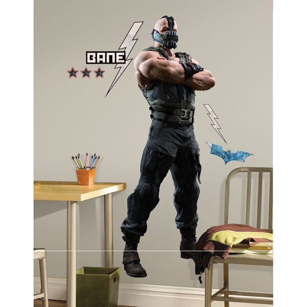 Batman dark knight rises bane giant wall decals for Dark knight rises wall mural