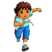 Go Diego Go Giant Wall Sticker