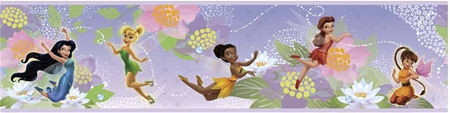 Disney Fairies Peel and Stick Wall Border - Wall Sticker Outlet