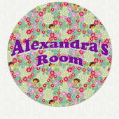 Dora the Explorer Custom Flower Wall Decal