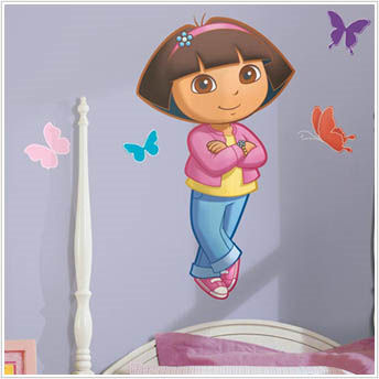 Dora the Explorer Giant Wall Stickers - Wall Sticker Outlet