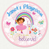 Dora the Explorer Custom Playroom Wall Decal