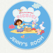 Dora the Explorer Custom Picnic Wall Decal