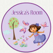 Dora the Explorer Custom Fairy Wall Decal