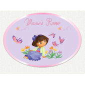Dora the Explorer Custom Butterfly Wall Decal