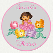 Dora the Explorer Custom Room Wall Decal
