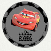 Disney Cars Draft King Wall Decal