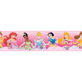 Disney Princess Dream From the Heart Pink Border