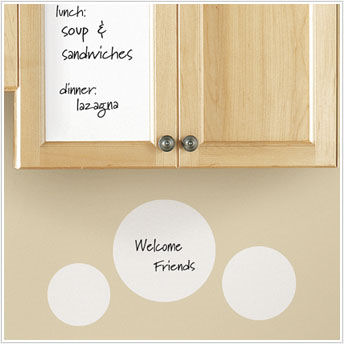 White Dry Erase Sheet - Wall Sticker Outlet