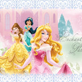 Disney Princess Enchanted Palace Custom Wall Decal