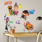 Fan Boy and Chum Chum Wall Decals