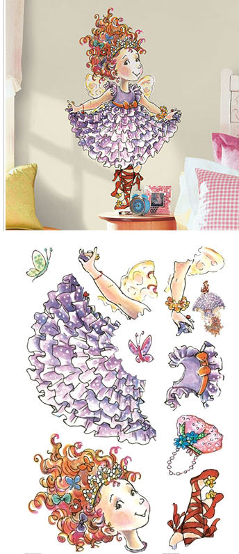Fancy Nancy Giant Wall Decal SALE - Wall Sticker Outlet
